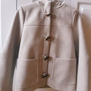 Never worn before soft toggle coat